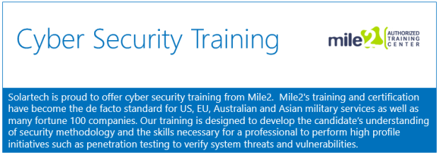 cyber security training -mile2